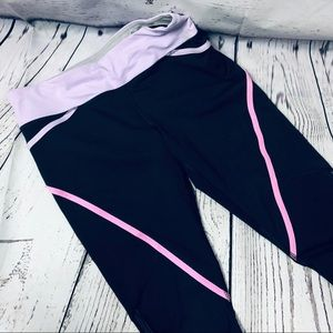 Lululemon Run:Pace Crop Leggings Reflective Ruched
